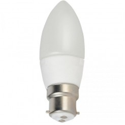 QUALEDY LED B22 Kaarslamp 3W (230V)